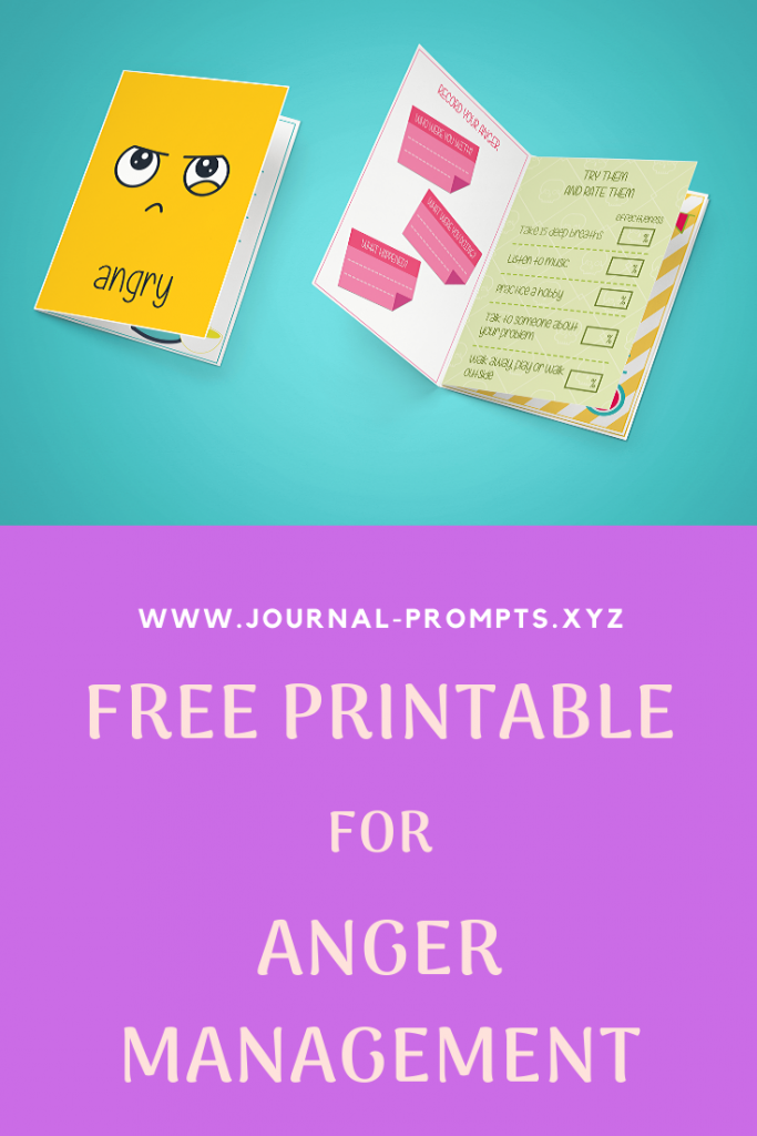 anger management purple printable